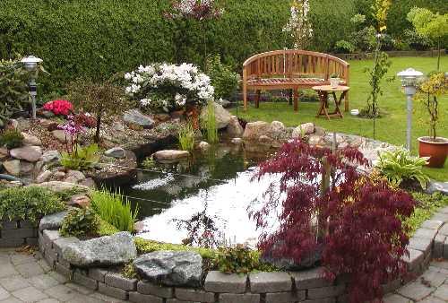 Havedam Ombygning Af Havebassin På 1500 L Til Havedam På 4200 L